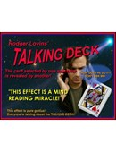 Talking Deck Deck of cards