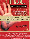 Tango Ultimate Coin - Limited Special Silver - Half Dollar 1964 plus 3 Matching Coins Gimmicked coin