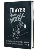 Thayer Quality Magic Volume 3 Book