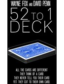 The 52 to 1 Deck Blue Trick