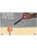 THE CARD INTO THE EGG magic by Alan Alfredo Marchese