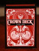 The Crown Deck - Red Deck of cards