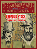 The Memory Arts - Redford Edition magic by David Trustman and Sarah Trustman