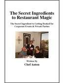 The Secret Ingredients to Restaurant Magic DVD
