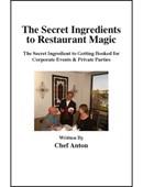 The Secret Ingredients to Restaurant Magic DVD