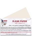 Flash Paper Sheets - 4 sheets 8