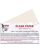 Flash Paper Sheets - 4 sheets 8
