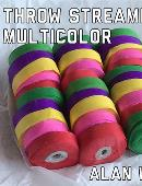 Throw Streamers Multi-Colored (10 pack)