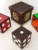 Color Changing Dice magic by Tora Magic
