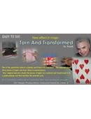Torn and Transformed magic by DV magic productions