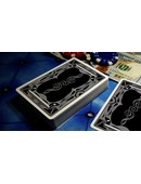 Treble Clef  Playing Cards - Black Deck of cards