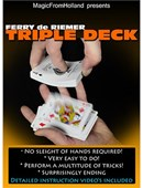 Triple Deck Deck of cards