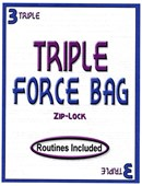 Triple Force ZIP LOCK Bag
