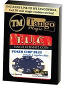 TUC Poker Chip plus 3 regular chips Trick