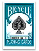 Turquoise Bicycle Deck Deck of cards