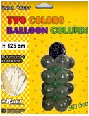 Two Colored Balloon Column Trick