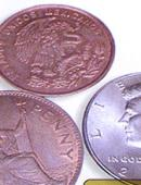 Two Copper and One Silver Gimmicked coin