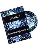 Ultimate Card Through Window DVD - Eric James DVD