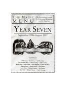 Year 7 : The Magic Menu Book