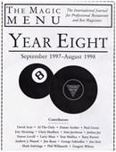 Year 8 : The Magic Menu Book
