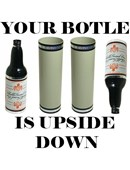 Your Bottle is Upside Down! Trick