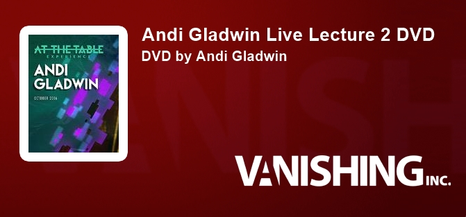 Andi Gladwin Live Lecture 2 DVD