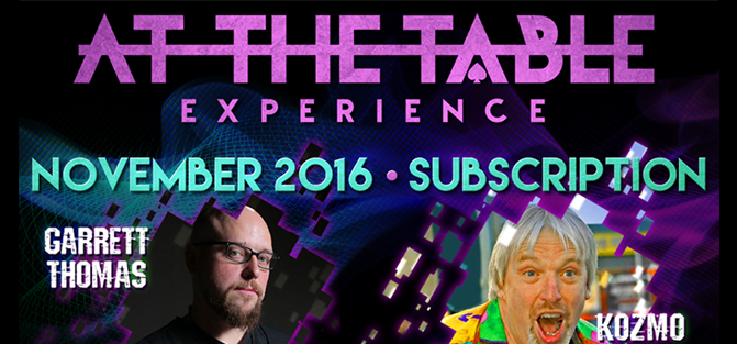 At The Table - November 2016