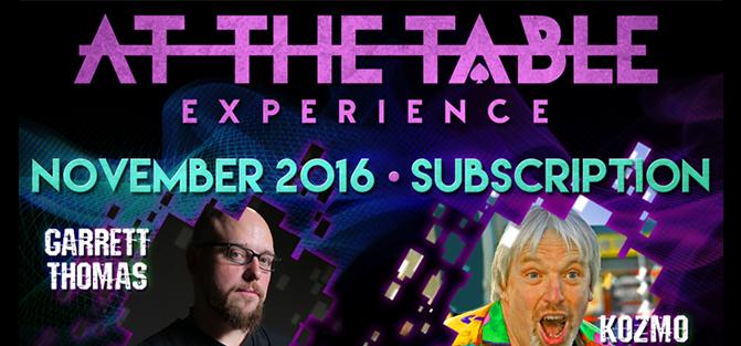 At The Table - November 2016