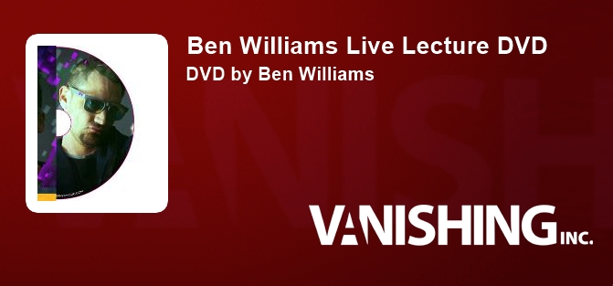 Ben Williams Live Lecture DVD