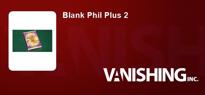 Blank Phil Plus 2