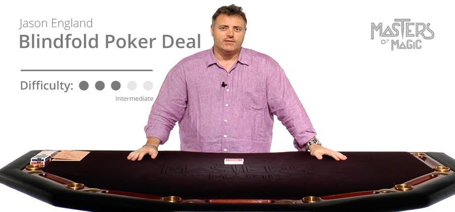 Blindfold Poker Deal