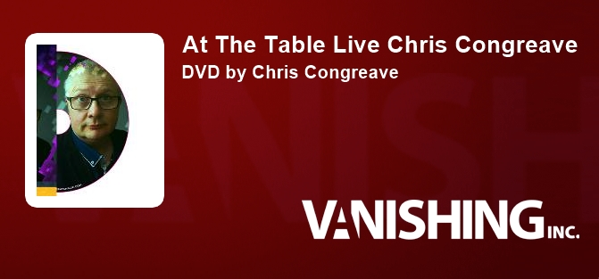 Chris Congreave Live Lecture DVD