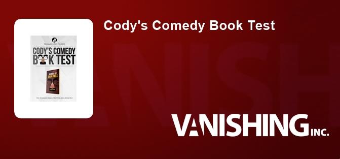 Cody's Comedy Book Test
