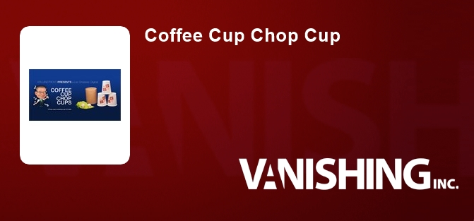 Coffee Cup Chop Cup