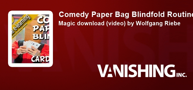 Comedy Paper Bag Blindfold Routine