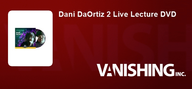 Dani DaOrtiz 2 Live Lecture DVD