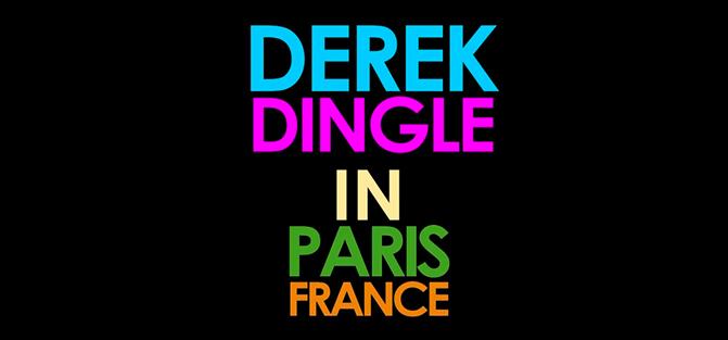 Derek Dingle in Paris, France