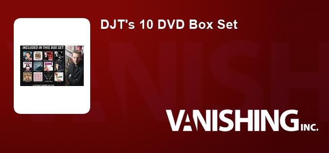 DJT's 10 DVD Box Set