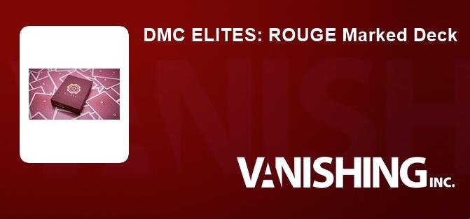 DMC ELITES: ROUGE Marked Deck