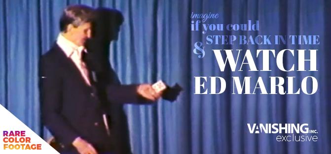 Ed Marlo Secret Lecture