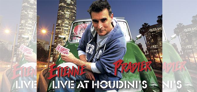 Etienne Pradier Live at Houdini's