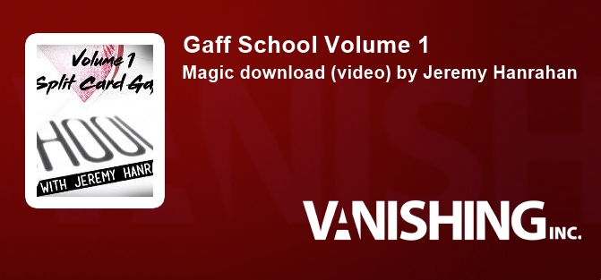 Gaff School Volume 1