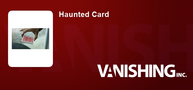 Haunted Card