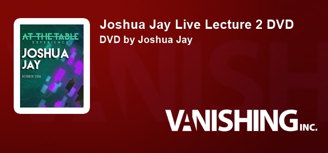 Joshua Jay Live Lecture 2 DVD