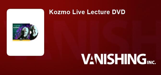 Kozmo Live Lecture DVD