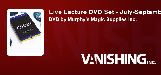 Live Lecture DVD Set - July-September 2017