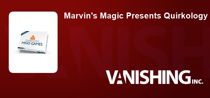 Marvin's Magic Presents Quirkology