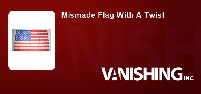 Mismade Flag With A Twist