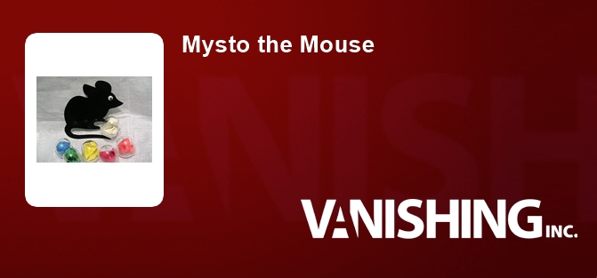 Mysto the Mouse
