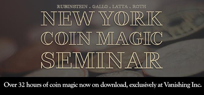 New York Coin Magic Seminar